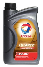 Motoreļļa Total Quartz 9000 Energy 5W40, 1l