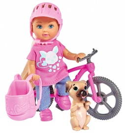 Simba Evi Love Holiday Doll With Bike 105733273038