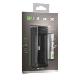 Bateriju lādētājs GP, Li-ion 18650, 2600 mah
