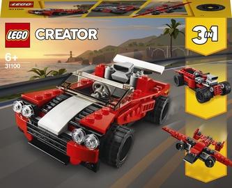 Конструктор LEGO Creator Спортивный автомобиль 31100, 134 шт.