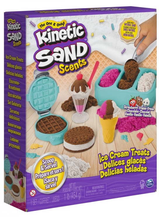 Spin Master Kinetic Sand Scents Ice Cream Treats