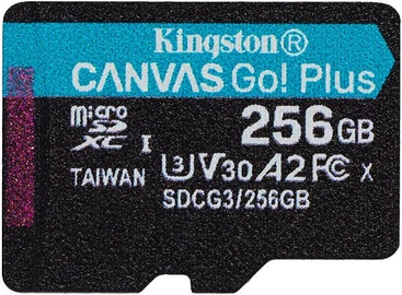 Kingston Canvas Go! Plus 256GB microSDXC UHS-I Class10