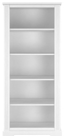 Bellamy Bookshelf Ines White 180x44cm