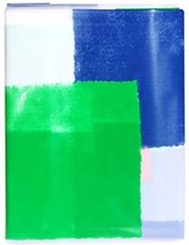 Vannas istabas aizkars Ridder Plastic, zila/balta/zaļa, 2000 mm x 1800 mm