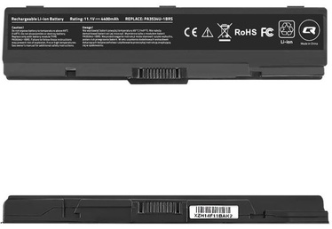 Qoltec Long Life Notebook Battery For Toshiba A200/A300 5200mAh