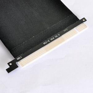 Lian Li PW-PCI-E38-1 Riser Card Adapter Extender w/ Flex Cable Black