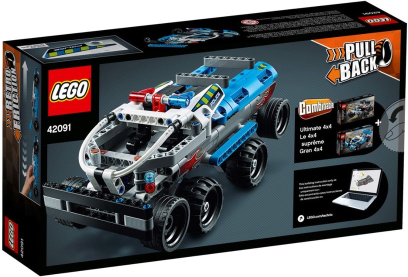 Konstruktorius LEGO Technic Police Pursuit 42091