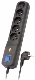 Lestar Surge Protector 5 Outlet Black 3 m