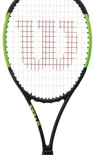 Tennisereket Wilson Blade 98S CV, must/roheline