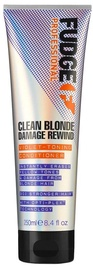 Fudge Clean Blonde Damage Rewind Violet Toning Conditioner 250ml