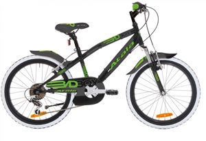"Atala Badboy 20"" 6V Black/Green"