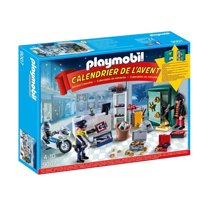 Calendrier Avent Duplo.Konstruktorius Playmobil Advento Kalendorius Policijos Operacija 9007