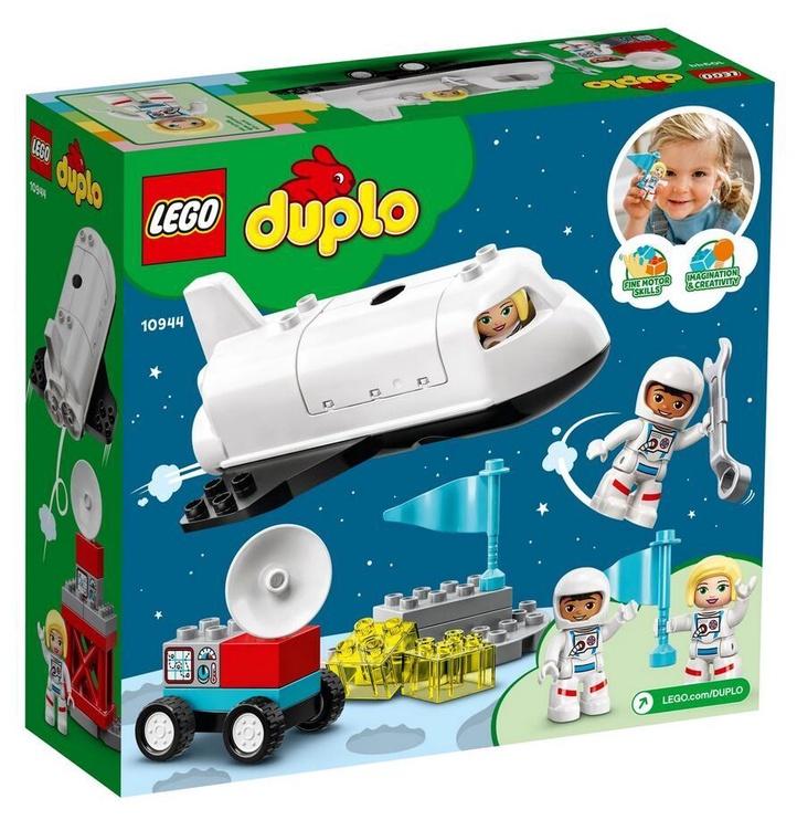 Конструктор LEGO Duplo Space Shuttle Mission 10944, 23 шт.