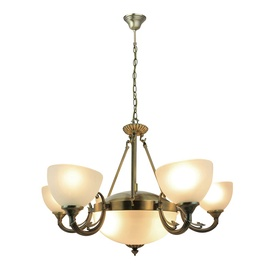 Griestu lampa Futura P13057-8, 2xE27, 6xE14