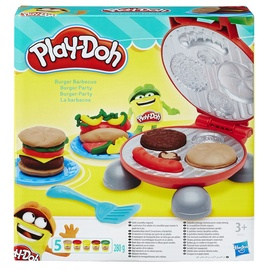 Plastilīna komplekts Play-doh Burger Party, B5521