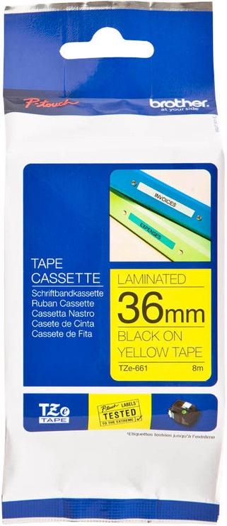 Этикет-лента для принтеров Brother TZe-661, 800 см