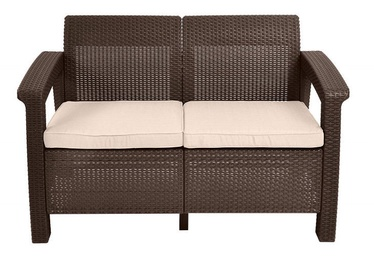 Keter Corfu Love Seat Brown