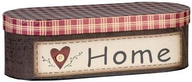Home4you Cardboard 12x29xH10cm  Love Home 3 Mix