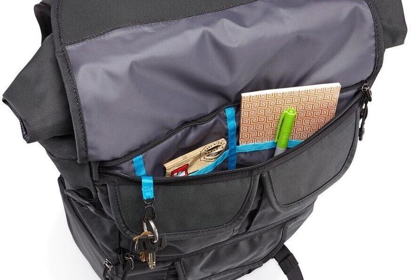 Seljakott Thule Covert DSLR Rolltop Backpack Dark Shadow
