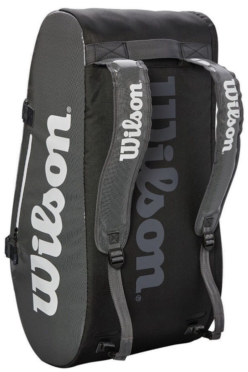 Wilson Super Tour 3 Compartment Bag Grey/Black