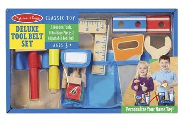 Melissa & Doug Classic Toy Deluxe Tool Belt Set