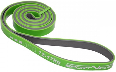 SportVida Fitness Rubber Power Band 2080x20x4.5mm Green