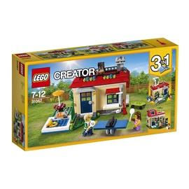 Konstruktor LEGO Creator, Modulaarne basseinipuhkus 31067