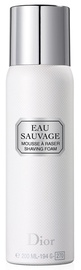 Christian Dior Eau Sauvage Shaving Foam 200ml