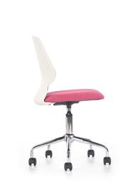 Halmar Chair Skate White/Pink