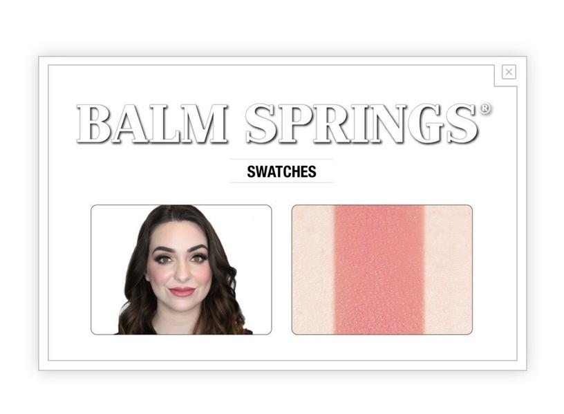 TheBalm Balm Springs Long-Wearing Blush 5.61g