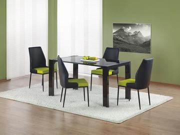 Valgomojo stalas Kevin, juoda