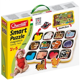 Dekoravimo rinkinys Quercetti Smart Puzzle Magnetico 0230