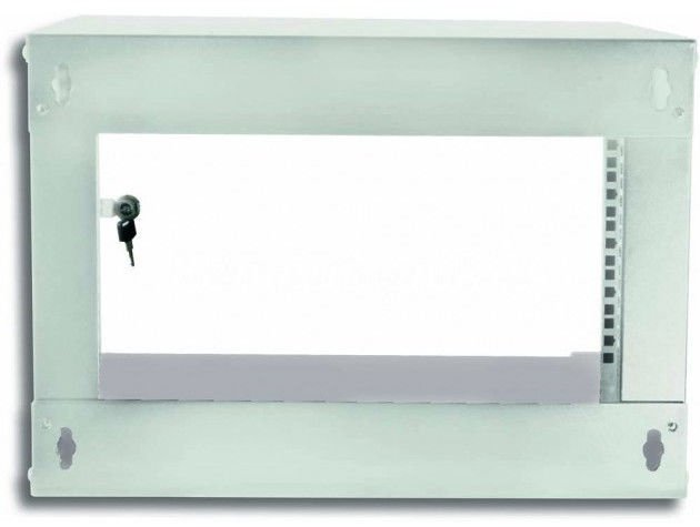 Techly Wallmount Cabinet ECO 19'' Grey