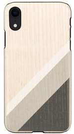 Man&Wood Back Case For Apple iPhone XR Gray Suit