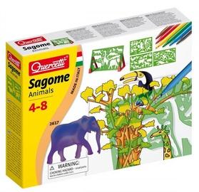 Quercetti Sagome Animals Trafarets