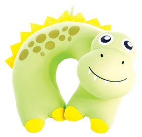 Spokey Bambini Travel Pillow Yellow/Green 839569