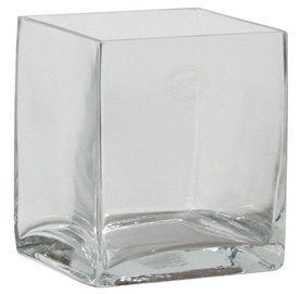 Home4you Vase In Home 15x15xH15cm Transparent