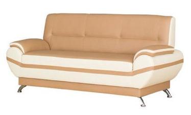 Bodzio Livonia Sofa 3 Eco Leather Beige/Cream