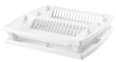 Plast Team Dish Drainer With Tray 44.2x38.3x8.5cm White