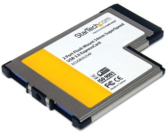 StarTech ExpressCard 2x USB 3.0 ECUSB3S254F