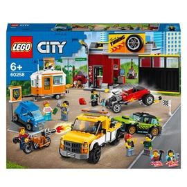 Konstruktor LEGO City Tuunimise töökoda 60258, 897 tk