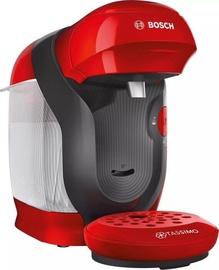 Kapsulinis kavos aparatas Bosch TAS1103, raudonas