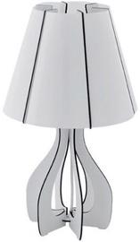 Eglo Cossano 94947 Table Lamp 60W E27 White