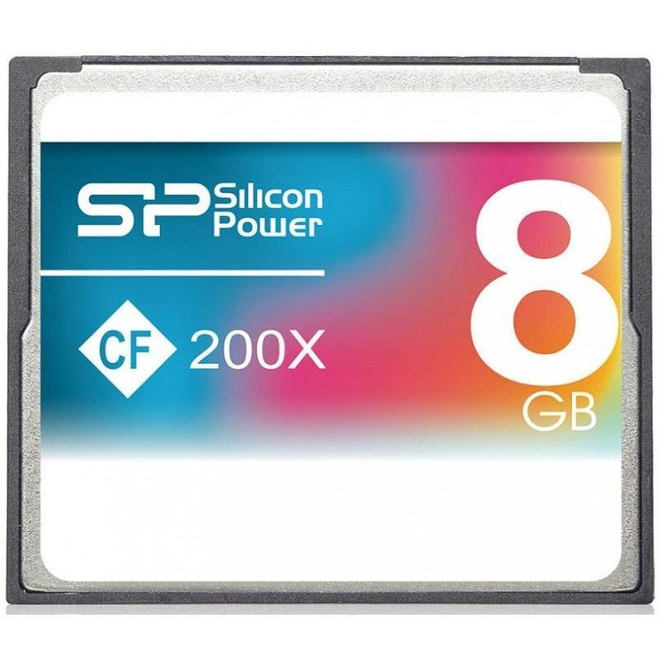 Silicon Power 200X Compact Flash 8GB