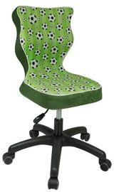 Детский стул Entelo ST29 Black/Green, 330x300x775 мм