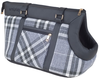 Soma Amiplay Kent Pet Carrier Bag L 42x26x30cm Black
