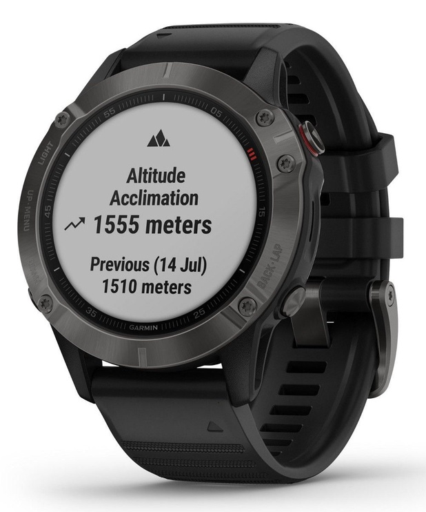 Garmin Fenix 6 PRO Slate Gray with Black Band with Maps Music