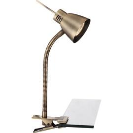 Galda lampa Globo Nuova Clip 50W, zelta