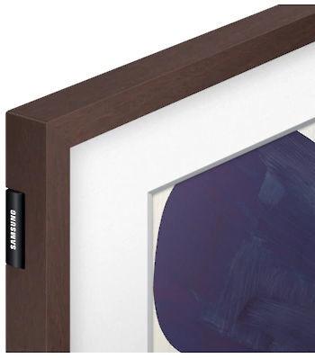Samsung Customizable Frame 75'' Brown