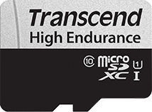 Transcend 350V microSDXC 64GB + Adapter